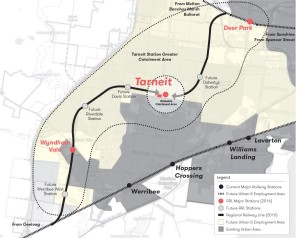 Tarneit Station Location in Melbourne West